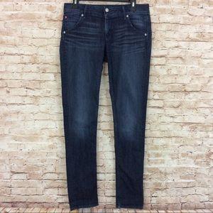Hudson Colin Flap Skinny Jeans 29